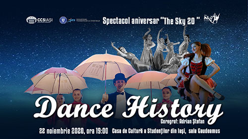 Casa de Cultura a Studentilor - Dance History- 20 ani The Sky
