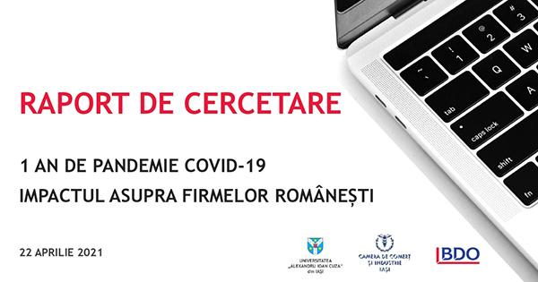 COVID-19. Impactul asupra firmelor românești
