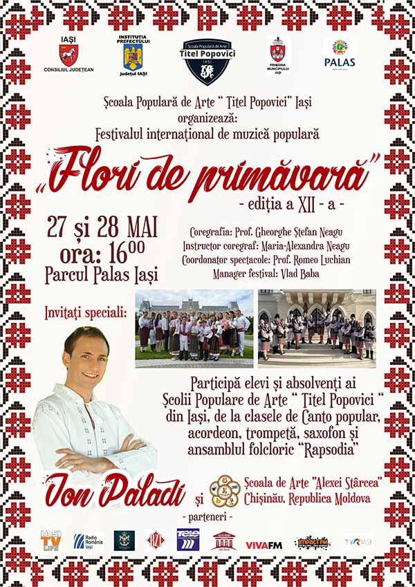 """Festivalul Internațional de Muzică Populară """"Flori de Primăvară"""""""