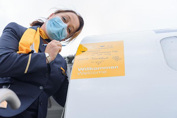 Lufthansa la iasi