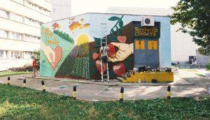 Mural campus Tudor Vldimirescu