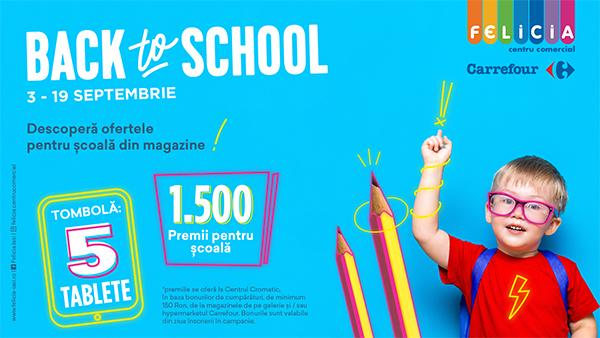 back to school Felicia Iasi